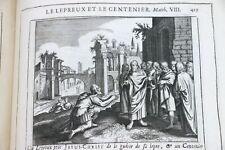 [BIBLE] L'Histoire du Vieux et du Nouveau Testament illustré Gravures REL SIGNÉE