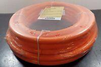 "Orange Smooth Urethane Round Belt Solid Core 3/4"" x 50' 1DYU6"