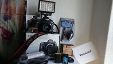 Canon EOS 5D Mark II Mk2 MkII 21.1MP DSLR Body + F1.8 50 mm Prime Lens & Extras