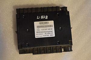 L-878 VW ONBOARD SUPPLY CONTROL UNIT 7L6937049M
