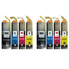 8 Ink Cartridges for Brother DCP-J4110DW MFC-J4510DW MFC-J650DW MFC-J870DW