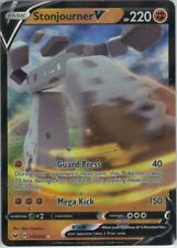 Pokemon Stonjourner V 115/202 Sword and Shield mint condition