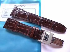 Strap in 20mm Brown Leather 20/18mm - Pilot Mark Portofino Portuguese IWC Style