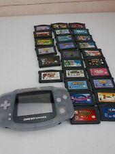 Nintendo Game Boy Advance - Glacier with 26 games