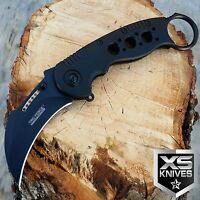 """TAC FORCE 8"""" Tactical Hunting KARAMBIT Knife Spring Assisted CLAW Pocket Knife"""