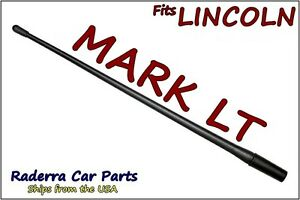 "FITS: 2006-2008 Lincoln Mark LT - 13"" SHORT Custom Flexible Rubber Antenna Mast"