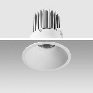 LED Einbauleuchte 5000K Tagweiß 9W 02-90C rund Ø 90mm