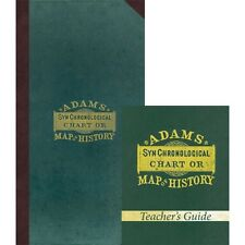 Adams' Chart of History Pack by Sebastian Adams NEW ATTIC BOOKS Homeschool