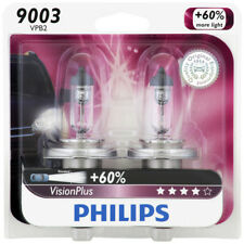 Headlight Bulb-VisionPlus - Twin Blister Pack Front PHILIPS 9003VPB2