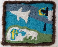 Canada First Nations Inuit Wool Woven Wall Hanging