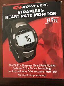 Bowflex EZ Pro Strapless Heart Rate Monitor Watch Fitness Tracker Gym Black NEW
