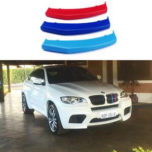 BizTech® Clip In Grill inserts Stripes For BMW X6 E71 E72 12-14 M Power Sport