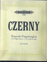 CZERNY - Kunst der Fingerfertigkeit Opus 740 ( 699 )