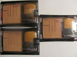 Maybelline Fit Me Blush Pressed Powder - Deep Nude Lot of 3