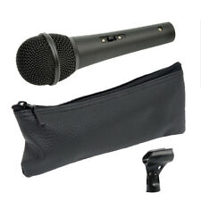 Chord DM01 Live or Studio Handheld Vocal + Instrument Microphone +Mic Clip + Bag