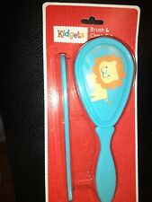 Kidgets Brush and Comb Set  Lion Nip New