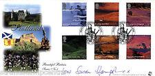 2003 Scozia-Bradbury sovrano UFFICIALE-firmata da SUSAN HAMPSHIRE