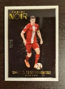 2016-17 Panini Noir Soccer Robert Lewandowski Color Base 73/75 Poland