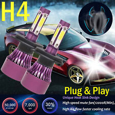 320W H4 LED Headlight Bulbs Conversion Kit High Low Beam Car Truck HID Halogen