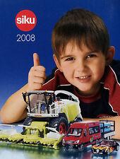 Prospekt Modellautokatalog Siku 2008 klein model cars D F GB Katalog Modellautos