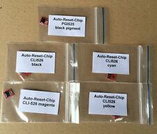 1 Satz Auto Reset Chips PGI525 CLI526 IP4850 MG5150 MG5250 MG5350 IX6550