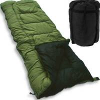 NEW 4 SEASONS WARM DYNAMIC SLEEPING BAG WITH HOOD CARP FISHING  High Tog CAMPING