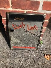 Vintage Drink Lively Limes Cloverdale Advertising Mirror