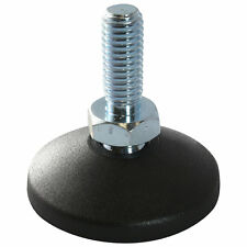 MINI Gelenkfuß Gelenkstellfuß Stellfuß 40 PA GewindestangeSpindel M10x60mm Stahl