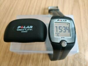 Polar FT1 Heart Rate Monitor Fitness Watch N2965 31 coded Running Wearlink HRM