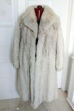 FULL LENGTH FOX FUR COAT SZ 12 14