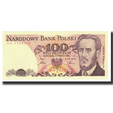 [#617450] Banknot, Polska, 100 Zlotych, 1986, 1986-06-01, KM:143d, UNC(63)