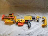 Nerf N Strike Recon CS-6 Dart Gun With Laser Light Scope Stock Barrel Extension