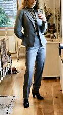 Warehouse Grey Wool Trouser Suit 12 Bnwt (matching Skirt Also Available)