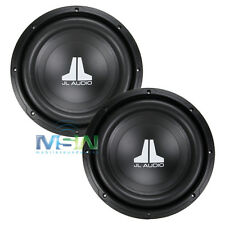 "(2) JL AUDIO® 10W0v3-4 10"" W0v3 4-OHM SUBS SUBWOOFERS SUB WOOFER *PAIR* 10W0 v3"