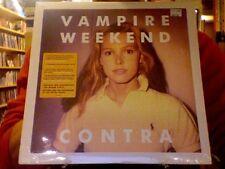 Vampire Weekend Contra LP sealed 180 gm vinyl + mp3 download