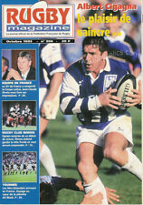 RUGBY No 956 Oct 1995 OFFICIAL MAGAZINE OF THE FFR - FRANCE