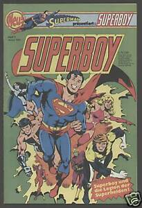 Superboy Ehapa 1980 Nr. 1 -1984 Nr. 34 komplette Serie 73 Hefte DC