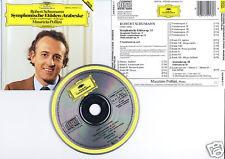 """SCHUMANN """"Etudes Symphoniques + Arabesque"""" (CD) 1991"""