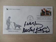 "Mickey Rooney Autographed 3 1/2"" X 6 1/2"" FDOI Envelope"