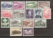 Österreich 1962 Kompletter Jahrgang Postfrisch ** MNH