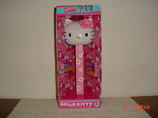 """GIANT """"HELLO KITTY"""" 12"""" PEZ DISPENSER/NIB/FACTORY SEALED/CANDY/BOXED/CLEARANCE!"""