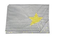 Nojo Little Love Star Double-Sided Soft  Baby  Blanket  - Stripes - polka dots