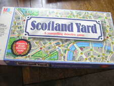 1985 Milton Bradley SCOTLAND YARD: Compelling Detective Game 3-6 Player Ages 10+