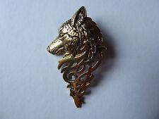 Stunning Wolf Brooch,Pin,Gold,Beautiful,Gift Idea,Fashion,Vintage,Men,Women