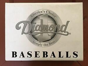 Diamond DCR Baseballs 1 dozen