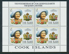 More details for cook islands 1995 95th birthday of hm the queen mother sg1378 mnh