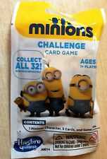 New Despicable Me Minions Challenge Card Game - 1 Minion 5 Cards - Still Sealed
