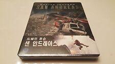 TEAR* San Andreas 3D STEELBOOK 1/4 Slip Nova Media Exclusive Bluray Korea 67/200