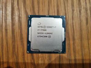 Intel Core i7-7700K - 4.20 GHz Quad-Core (CM8067702868535) Processor