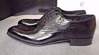 """""""Reprise"""" black men's shoes size 42EU (8UK) - 100% Leather RRP £245"""